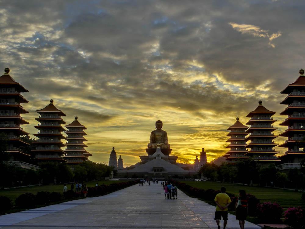 Тайван Foguangshan Buddhist Monastery