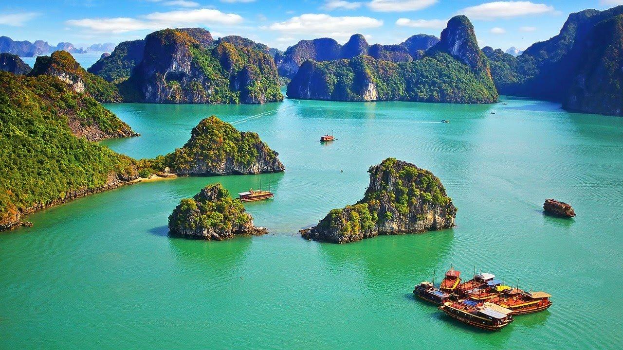 Халонг бей, Виетнам