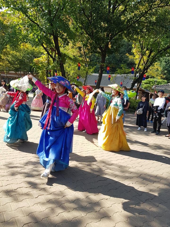 Seoul, South Korea, traditional dance