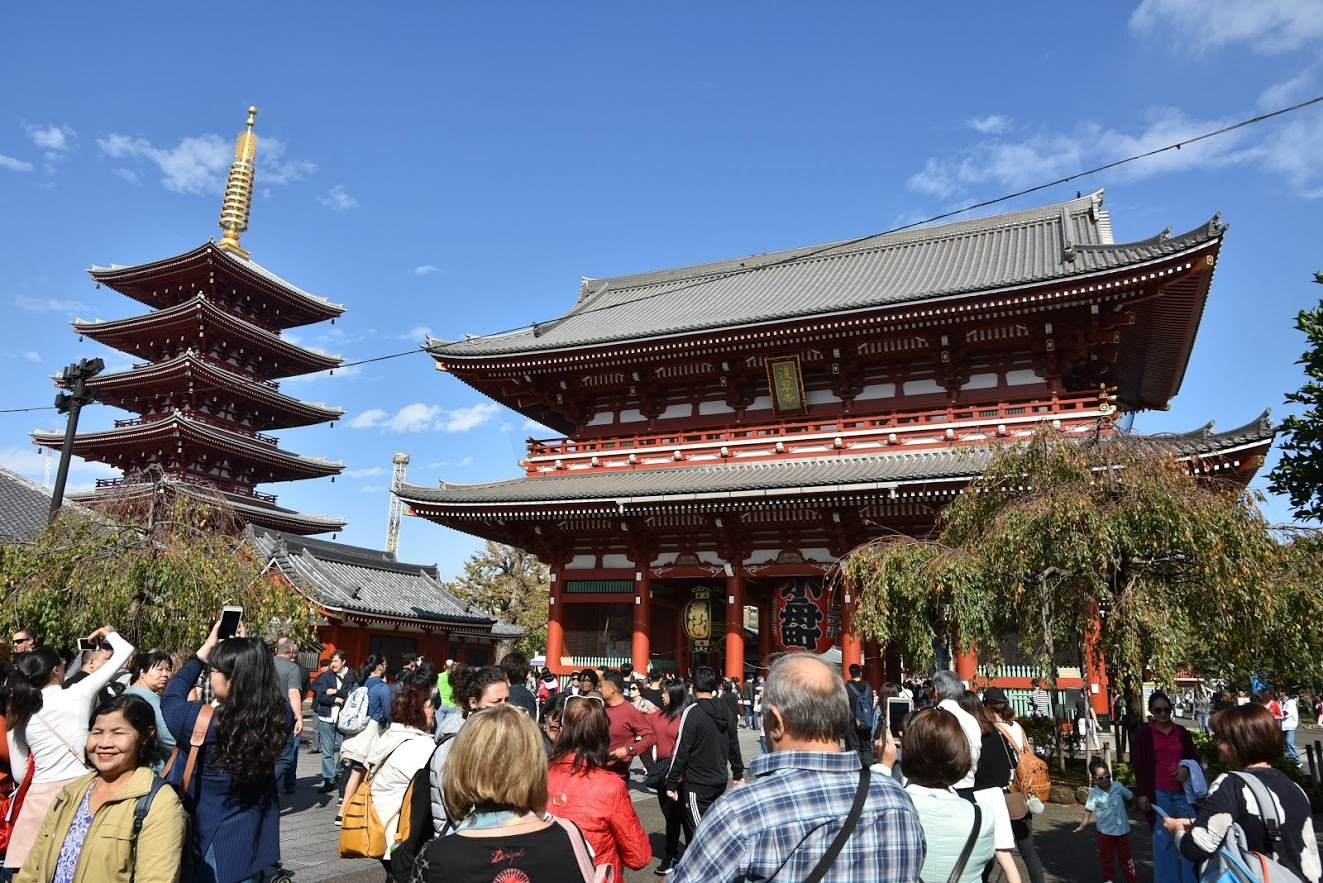 Asakusa, Senso-ji, Tokyo, Japan