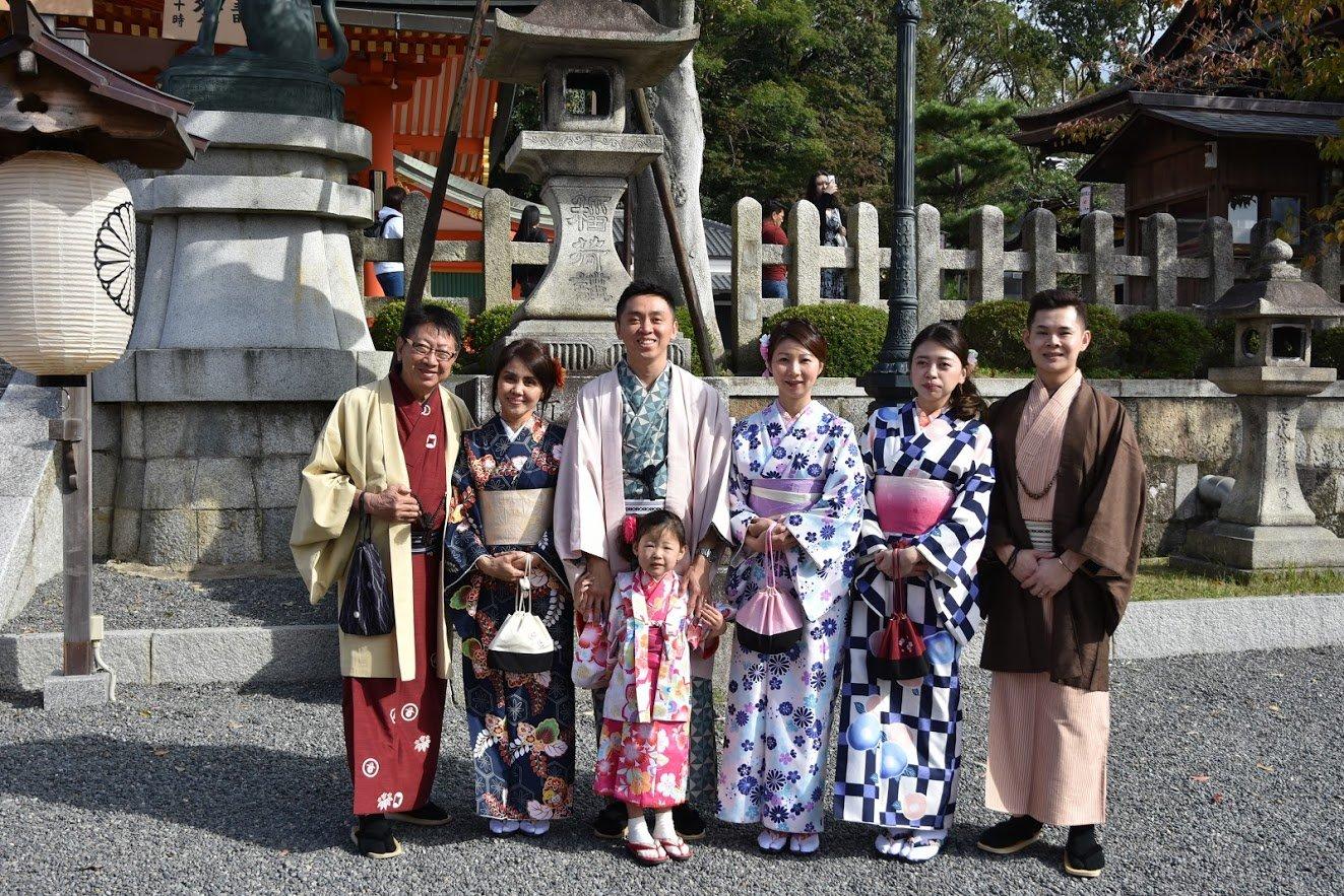 Smiles in Japan - kimono