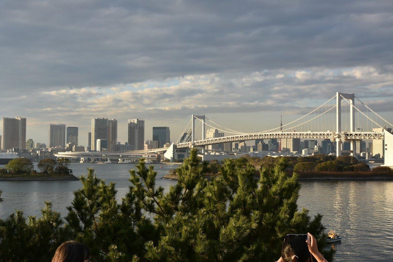 Rainbow bridge, Odaiba, Tokyo