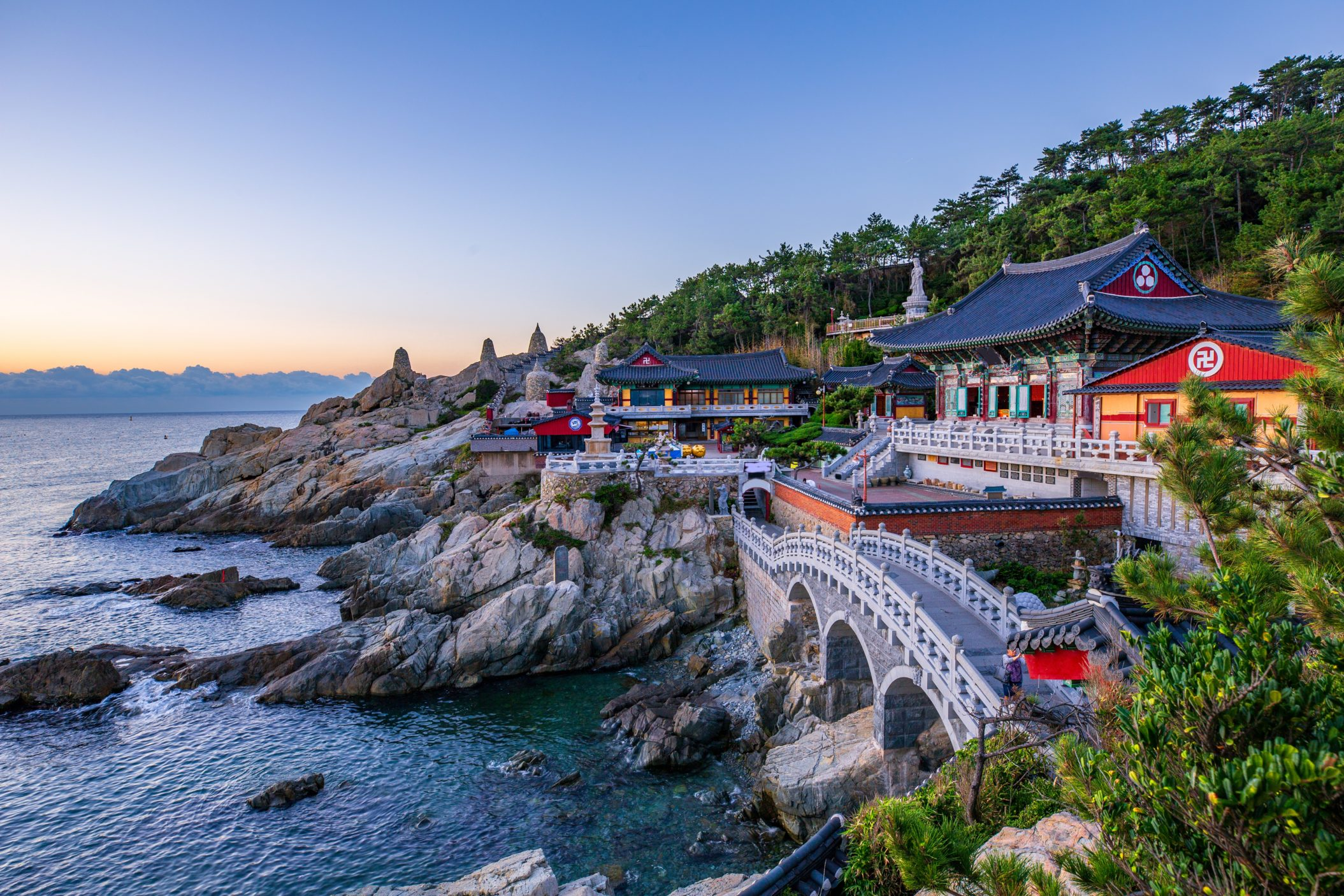 Haedong Yonggungsa, South Korea
