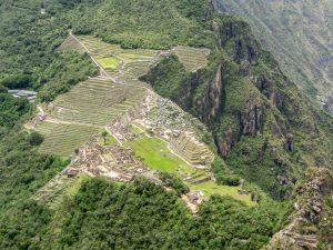 Machu Picchu, view from Huayna Picchu, Peru