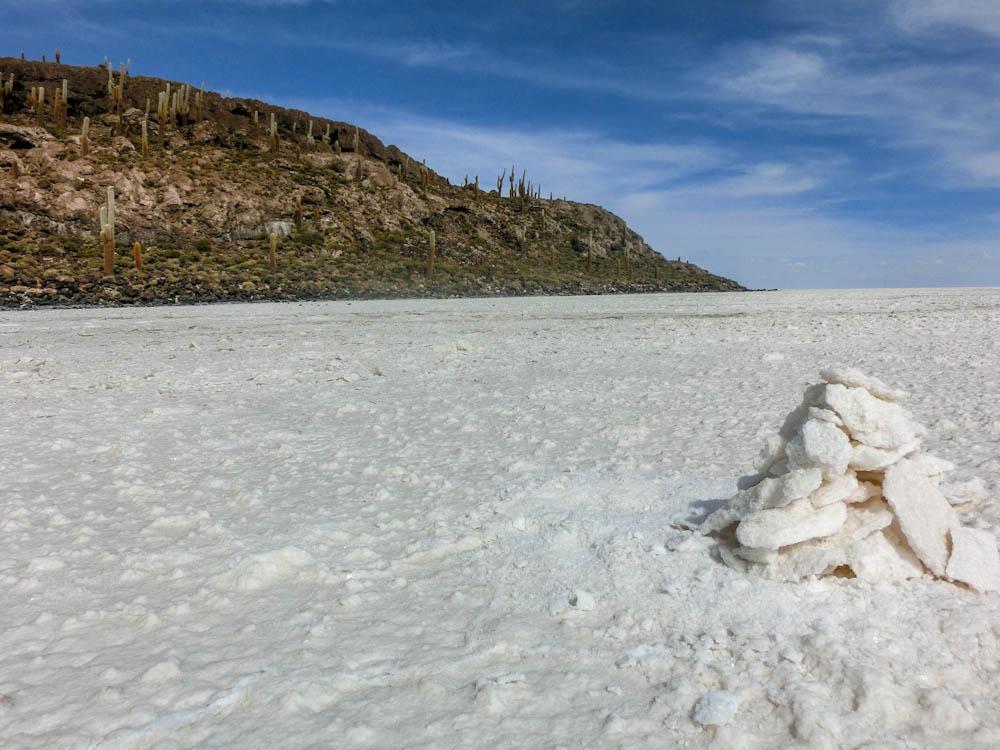 Salt flats, Uyuni, Bolivia