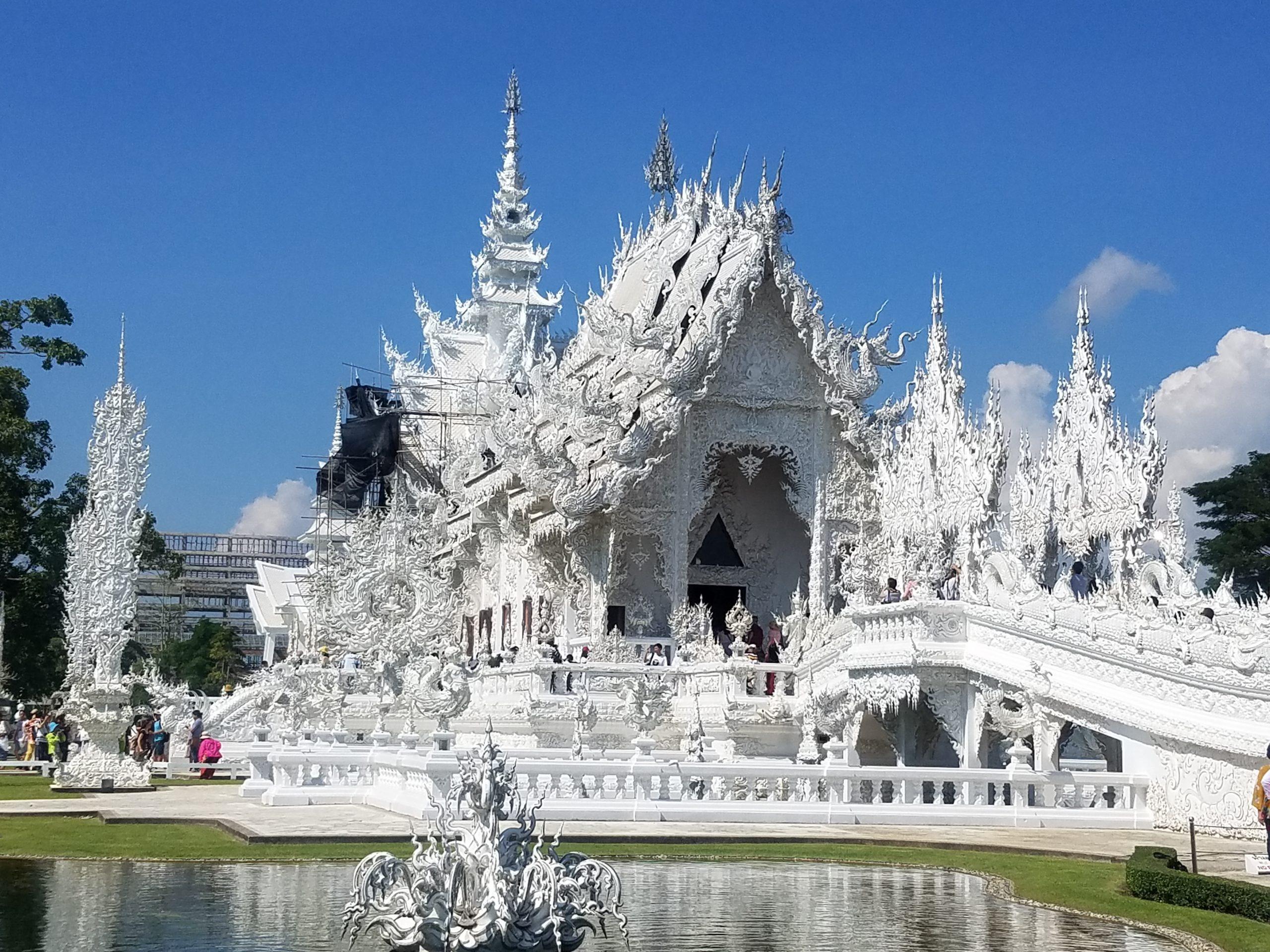 Бял Храм, Чианг Рай, Тайланд