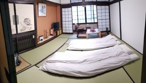 Ryokan - traditional house in Japan