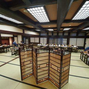 Ryokan - traditional house in Japan