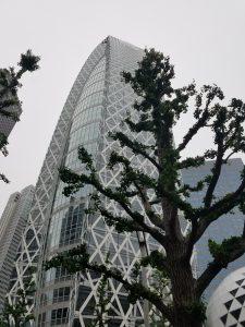 Shinjuku Tokyo Cocoon Tower