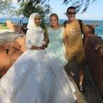 Сватбена фотосесия на Призън айлънд