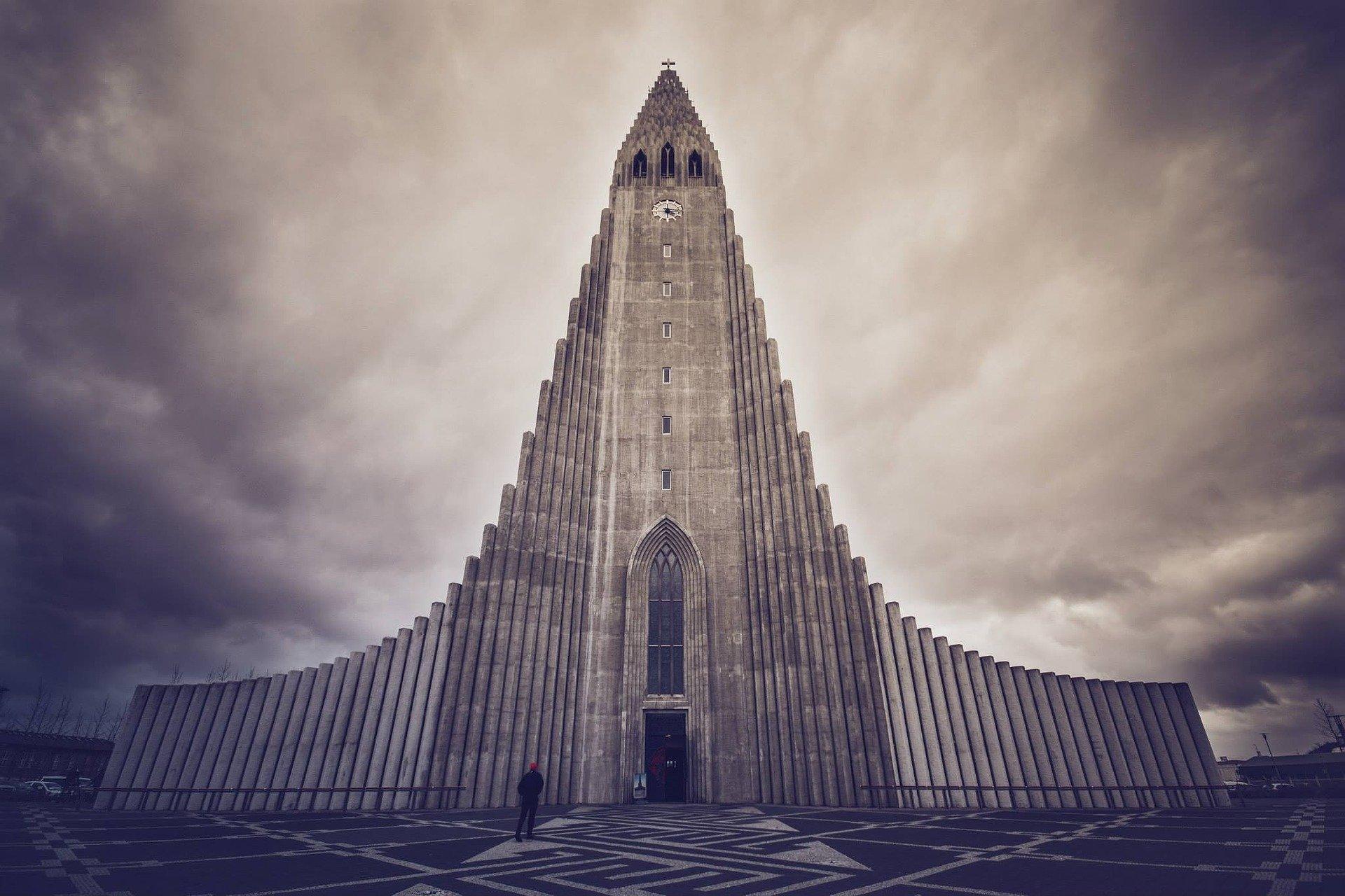 Hallgrimskirkja, Reykjavik, church, Iceland