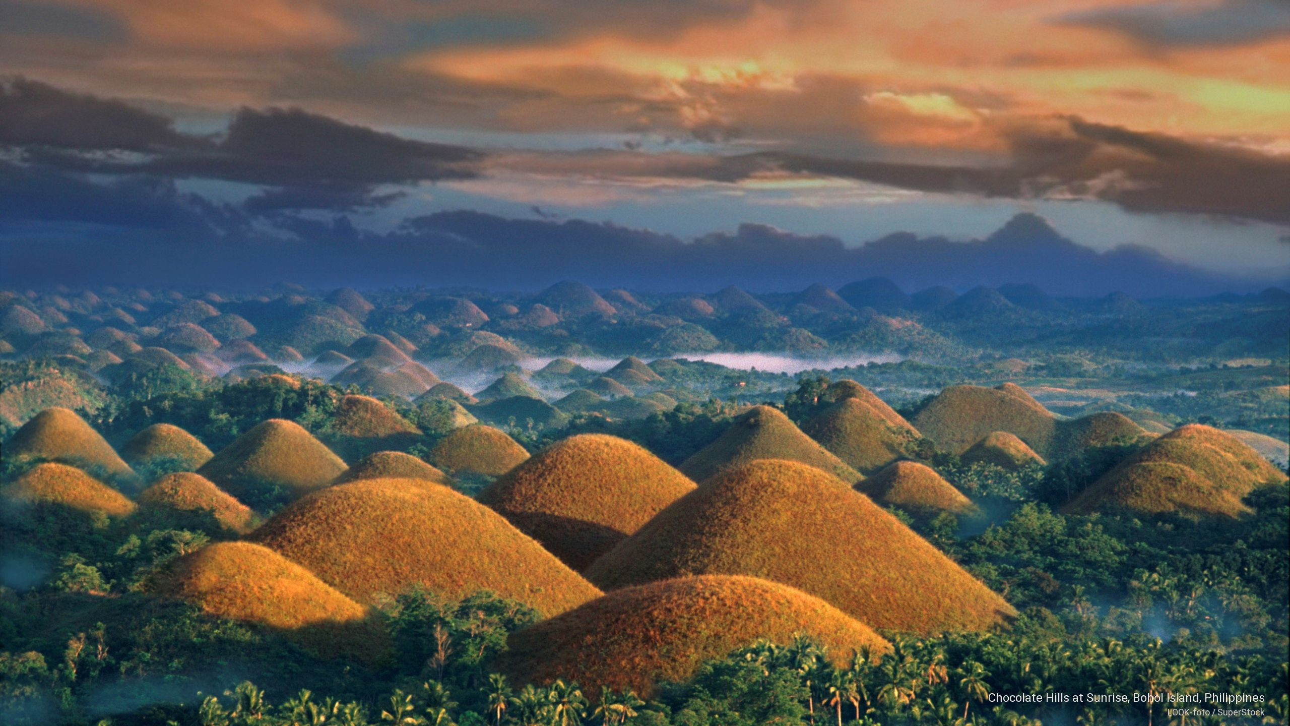 Шоколадовите хълмове на Филипините