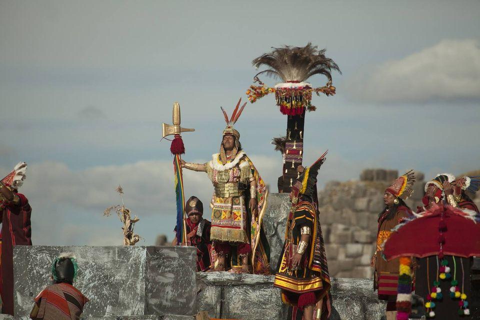 Фестивалът на слънцето в Перу- Инти Райми