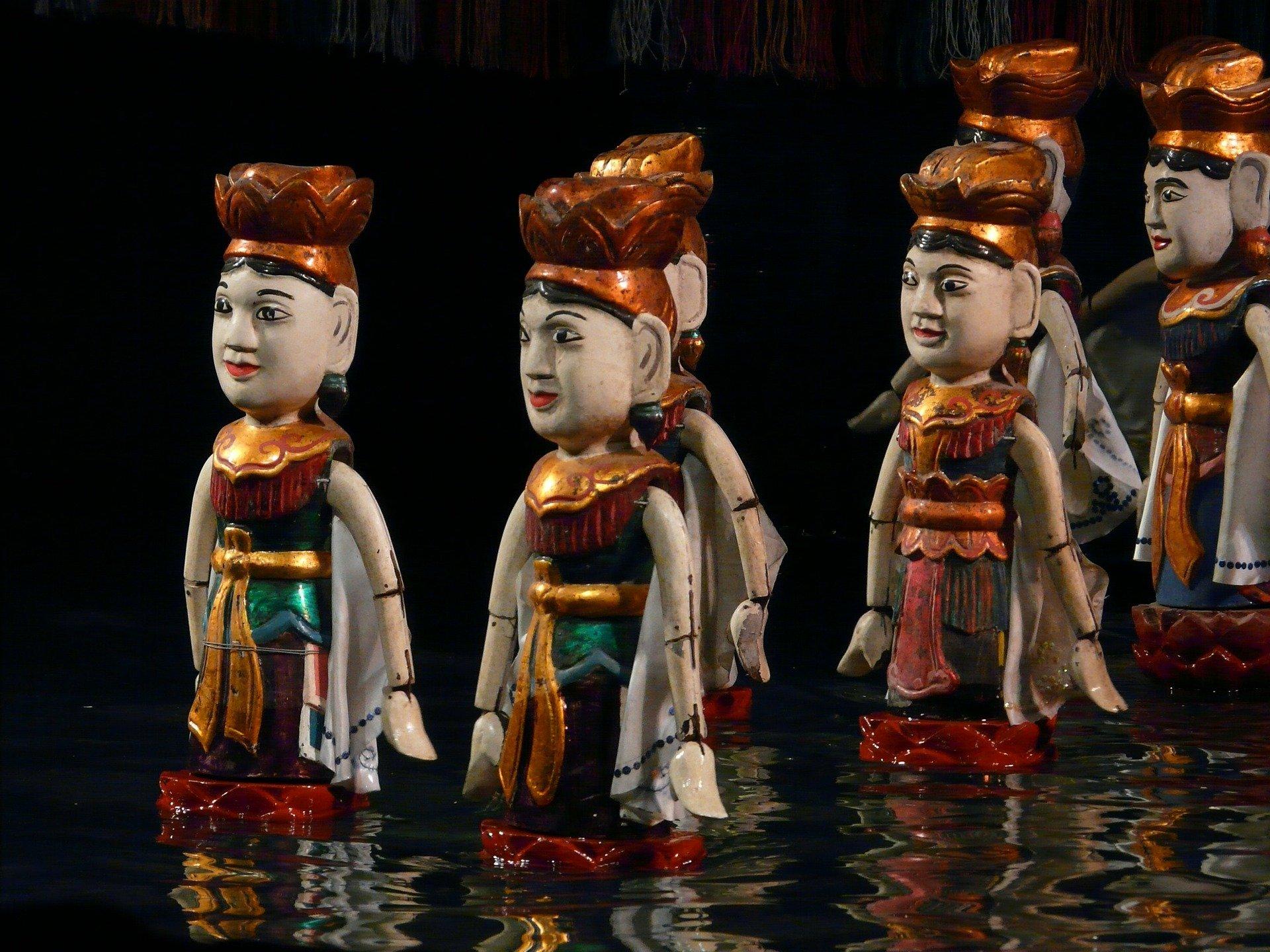 Виетнамски воден куклен театър- едно от най- древните изкуства