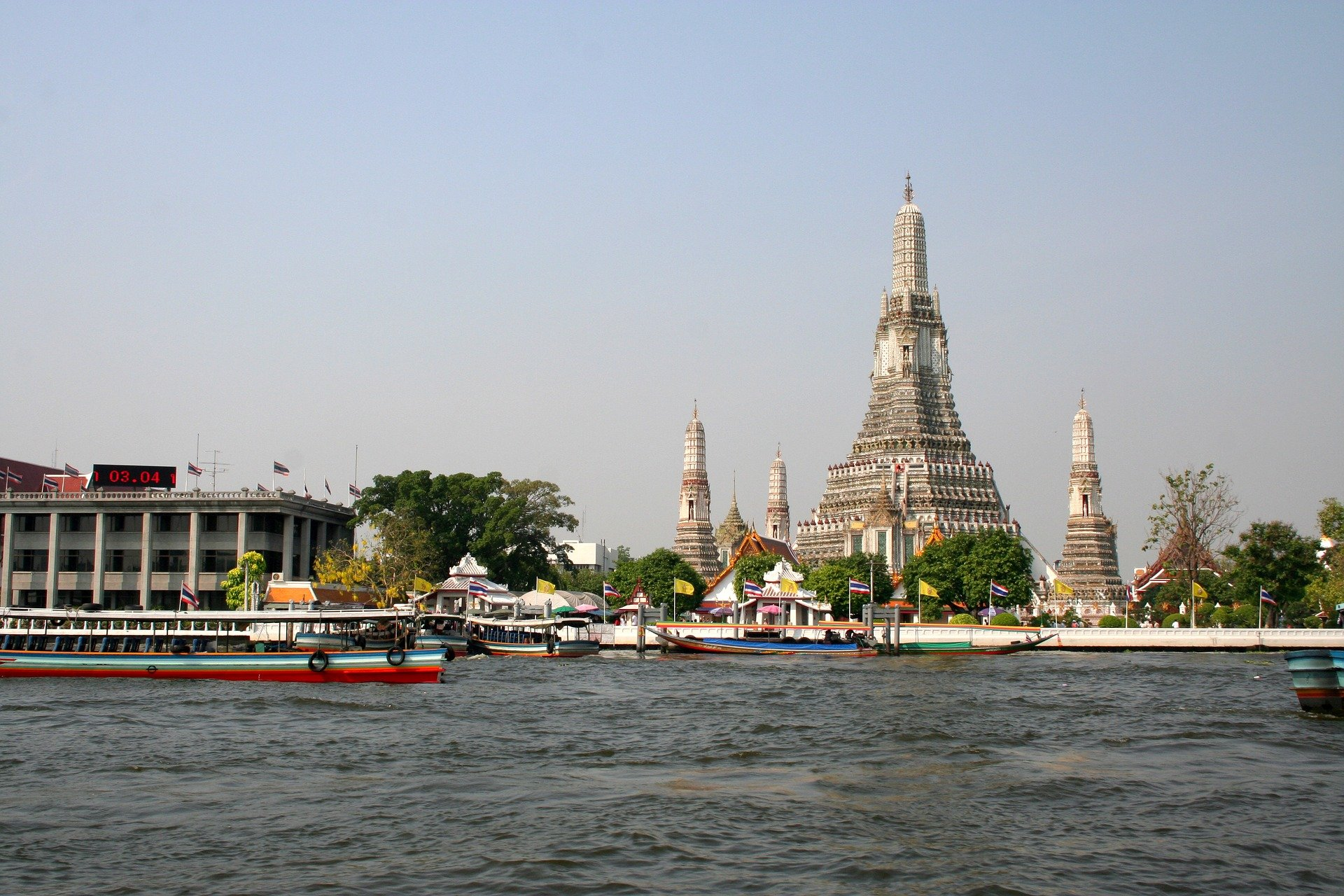 Река Чао Прая- Банкок