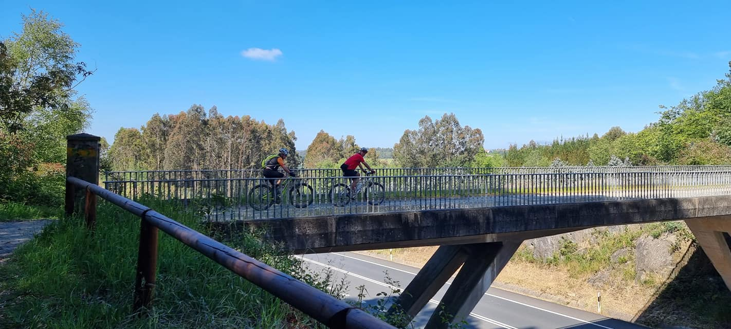 Велосипедисти по пътя Камино