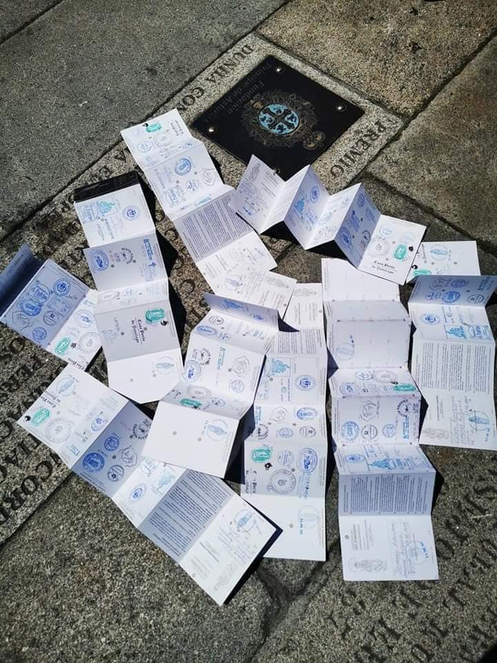Попълнени пилгримски паспорти