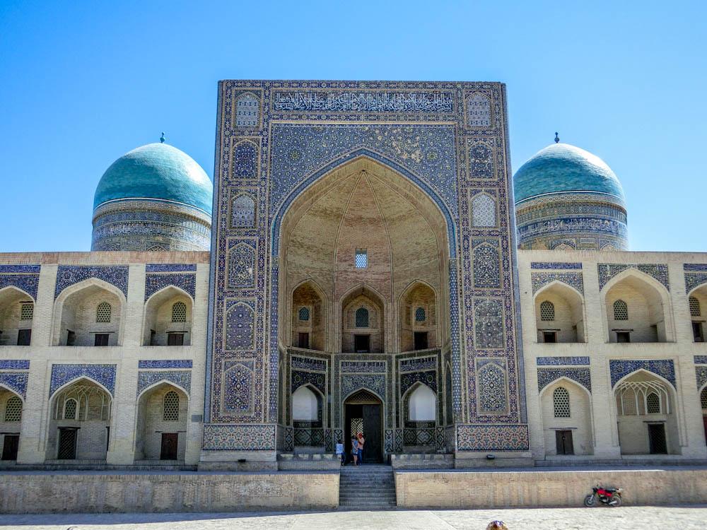 """Медресето """"Мири Араб"""" , част от Архитектурен ансамбъл """"Пойкалон"""""""