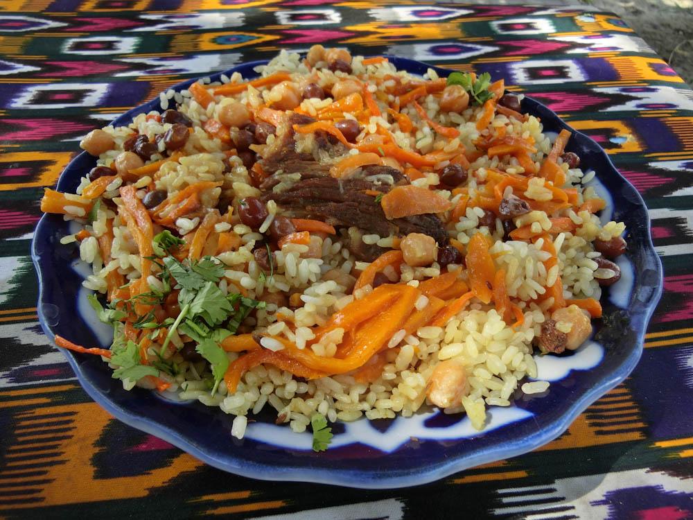 Плов - национално узбекско ястие - плов