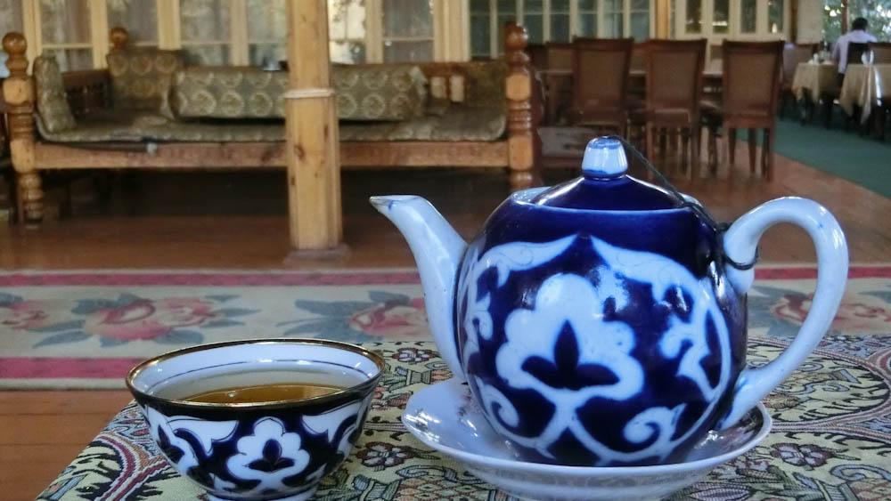 Зелен чай, Узбекистан