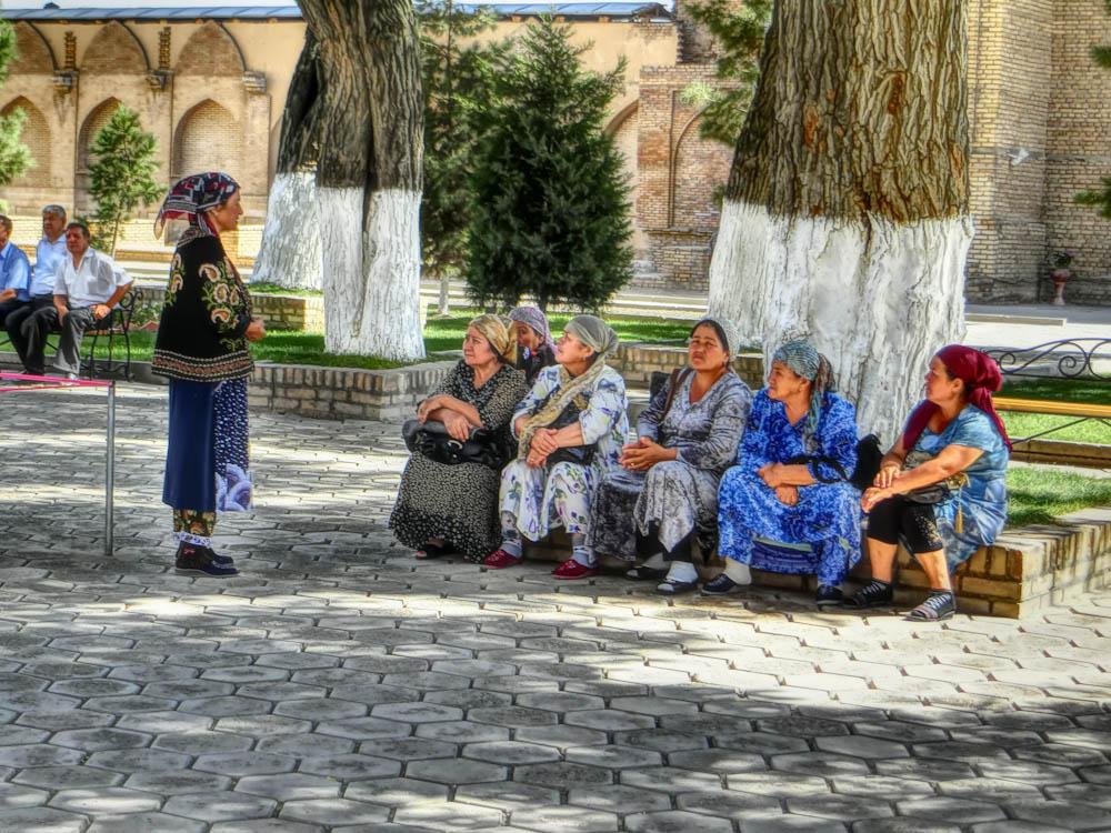 На седянка в Самарканд