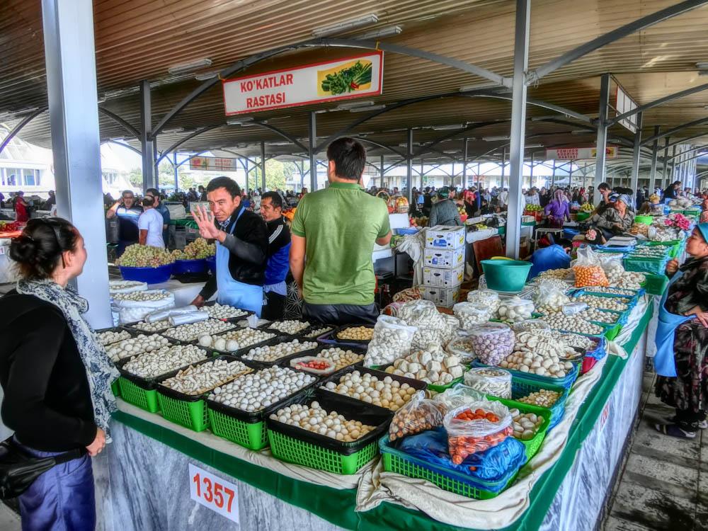 Пазар Chorsu в Ташкент