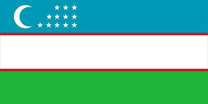 Знаме на Узбекистан