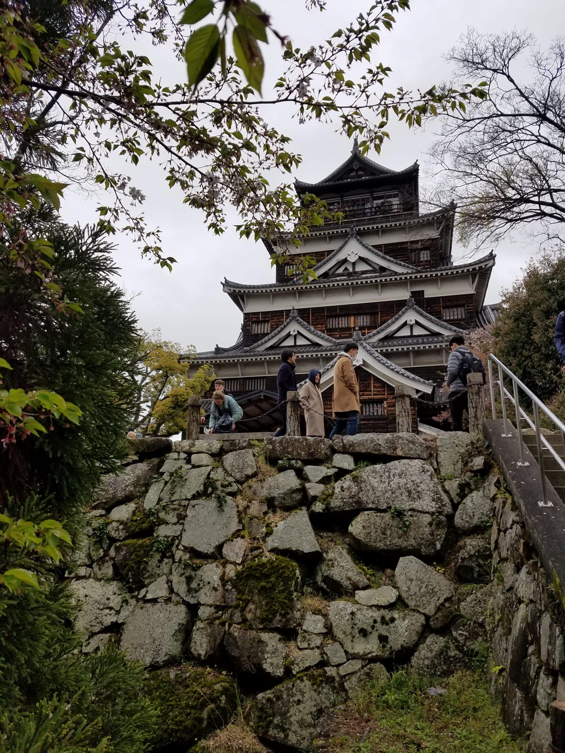 Замък в Хирошима